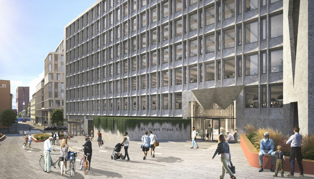 Det ikoniske «Erling Viksjø»-bygget på St. Olavs plass 5 ble opprinnelig oppført på oppdrag for Oslo Helseråd og sto ferdig i 1969. Nå skal dette kulturminnet totalrehabiliteres, og det skal skapes arbeidsplasser for fremtiden.