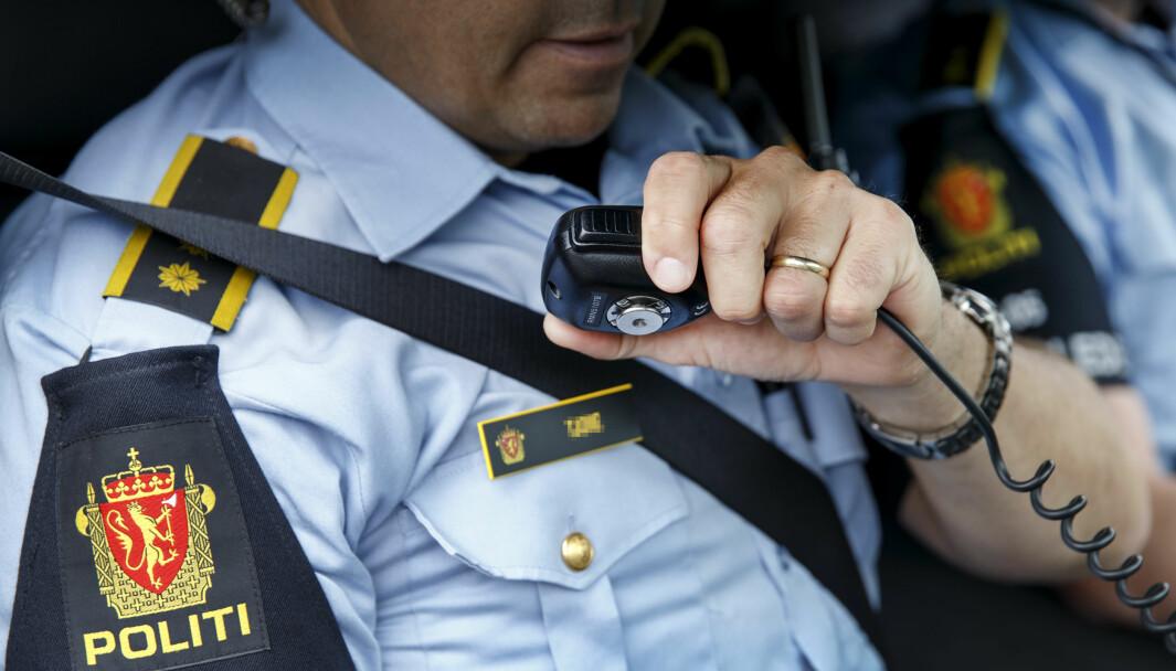 Politiet stanset noe de oppfattet som en voldsom krangel ved Oslo City i sentrum. De fant en machete på den 17-årige gutten. Han ble kjørt i arrest og anmeldt.