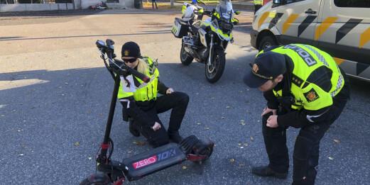 Politiet sier nei til promille- og fartsgrense for elsparkesykler. Vil også tillate parkering på fortau