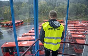 Ruter forbereder seg på busstreik