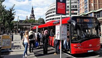 Stor fare for busstreik i Oslo fra søndag. Nei takk! sier de fagorganiserte til tilbudet fra arbeidsgiverne