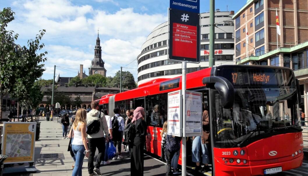 Om ikke partene i lønnsoppgjøret blir enige, blir det busstreik i Oslo fra søndag