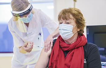 Oslo-ordfører fikk første dose: – Håper alle takker ja til vaksinen