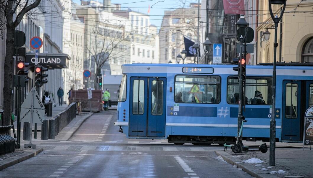 Trikken fortsetter å gå selv om busser skulle bli innstilt ved en eventuell streik fra og med søndag morgen.