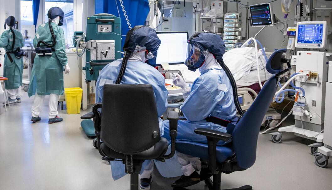 Det er nå 52 koronapasienter på intensivavdelingen ved Oslo universitetssykehus. Det siste døgnet har to pasienter med covid dødd.