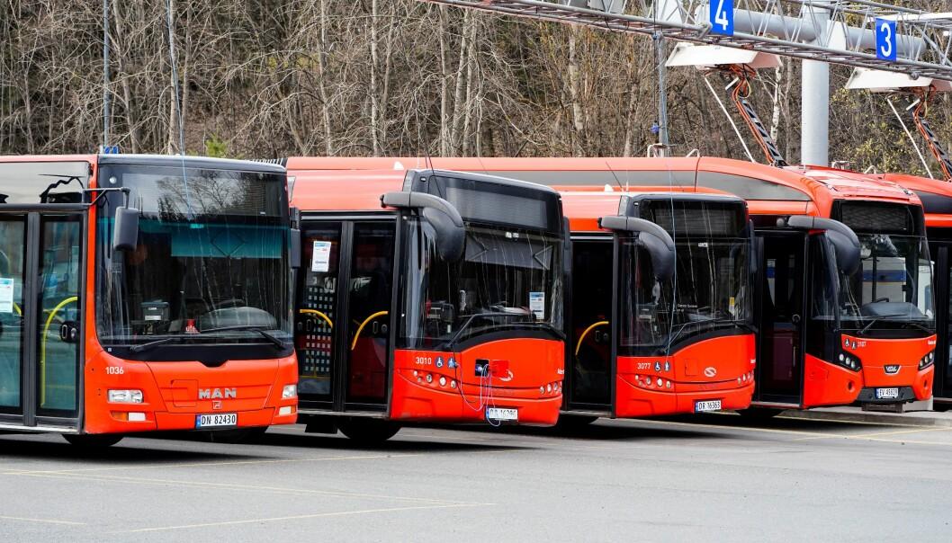 En streik ville rammet alle by-, skole- og regionbusser i Oslo og det øvrige området Ruter dekker.
