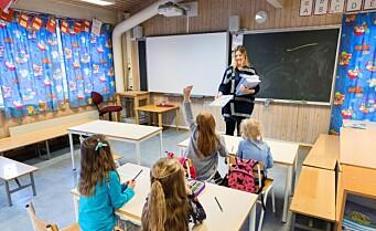 Denne uken innføres strengere koronaregler ved 1. til 7. trinn på alle skoler i Oslo
