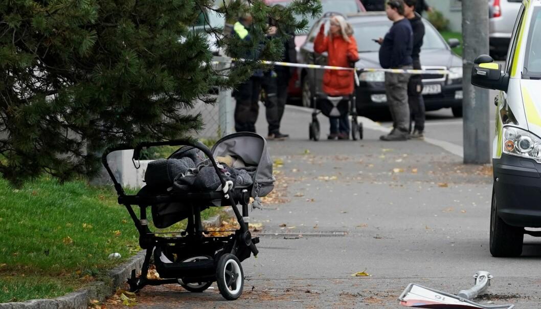 De sju måneder gamle tvillingene i barnevogna overlevde mirakuløst. — Min opplevelse er at ambulansen svingte opp mot meg. Det var ingen andre i nærheten, sa mor til babyene da hun forklarte seg i retten.