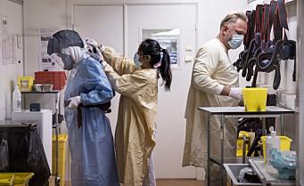 OUS varsler om enda en død covid-pasient. Sykehuset har nesten daglig hatt koronadødsfall hittil i april
