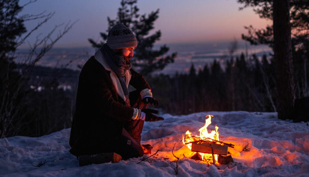 Denne uken inntreffer bålforbudet for å hindre skog- og lyngbrann. Her fra Frognerseteren, men Oslo i bakgrunnen.
