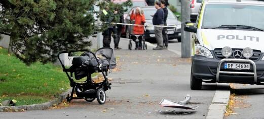 Ambulansekapreren: – Jeg hadde null kontroll på den jævla bilen. Jeg så ikke barnevogna