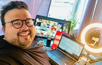 Jørgen (31) fra Sagene jobber for funksjonshemmedes rettigheter på Arbeiderpartiets landsmøte