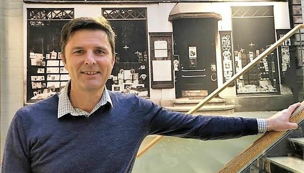 John Thomasgaard, administrerende direktør i Norli, ønsker å lage en ny gigantbokhandel i Oslo sentrum.