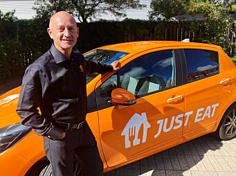 Carsten Boldt leder selskapet som leverer mat til stadig flere.