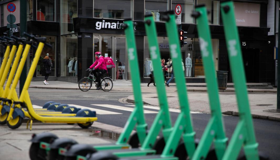 Denne uken annonserte Ryde at de setter ut 3000 elsparkesykler ekstra i en by med null regulering av elsparkesyklene.
