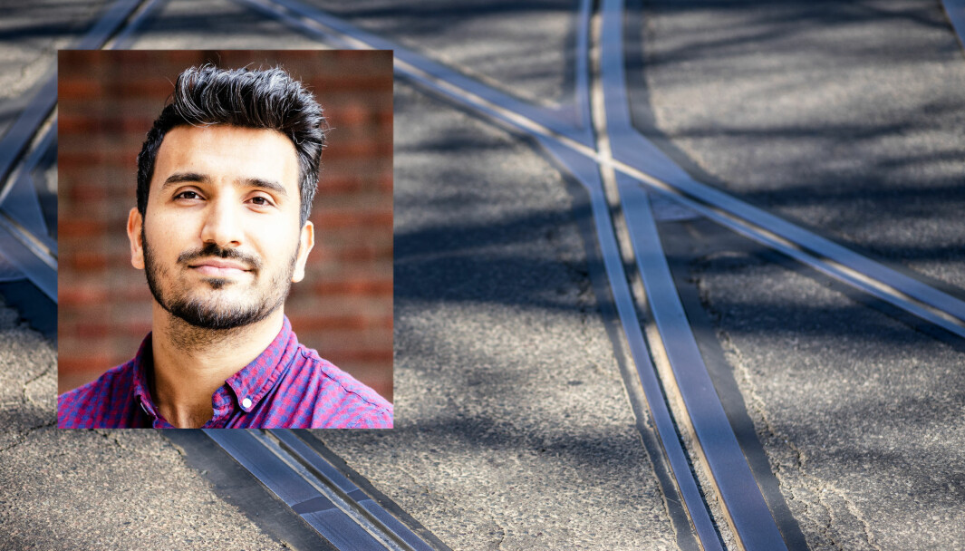 — Det vil ha store kostnader å fjerne trikkesporene i gata. Det er uforsvarlig å bruke mange millioner på å bygge opp disse sporene igjen etter få år, sier Siavash Mobasheri (R).