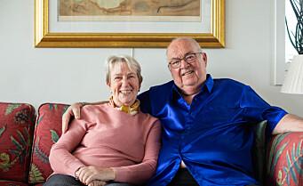 Overraskende mange naboer har tilbudt oss hjelp under koronaen. – Veldig rørende, sier Rolf (77)