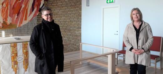 Prost Marit Bunkholt inviterer deg til å gå en kulturtur fra kirke til kirke på søndag