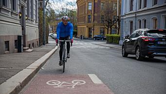 Hvor mange kilometer med sykkelvei bør det bygges i Oslo hvert år? Se hva Oslo-partiene svarer