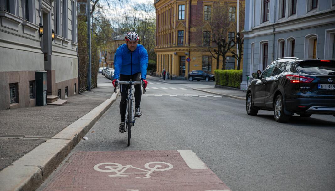 Det er bred enighet om sykkelveiutbyggingen i Oslo.