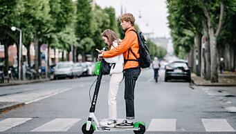 Her er de nye reglene for elsparkesykler. Dette kan du bli bøtelagt for