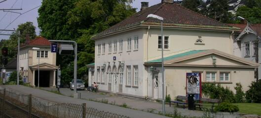 Mann døde i togpåkjørsel ved Ljan stasjon