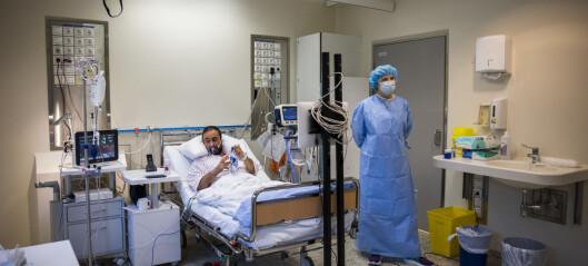 Med smittenedgang blir det også færre koronapasienter ved Oslo-sykehusene