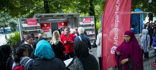 En av fire Ap-velgere i Oslo sitter på gjerdet før høstens stortingsvalg