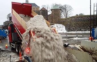 Oslo og Trondheim går sammen: Setter av 32 millioner til forskere som kan gjøre skitten snø om til ressurs