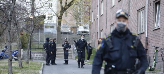 Mann knivstukket på åpen gate på Bjølsen – er alvorlig skadd, opplyser politiet