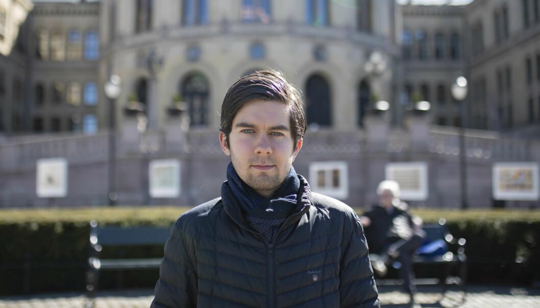 Tobias Svendsen sikter seg inn mot at Frp skal få inn to kandidater på Stortinget i høstens valg.