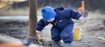 – Vi må tåle litt «barnestøy» i arbeidstida fra lekeplassene rundt oss