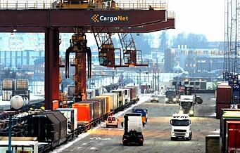 Rapport: Alnabru bør beholdes som sentral jernbaneterminal