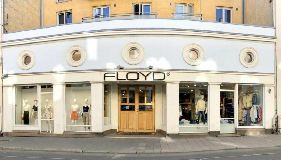 Daglig leder for butikken Floyd kom over en svært lite hyggelig overraskelse under forhandlingene om leieprisen til butikklokalene.