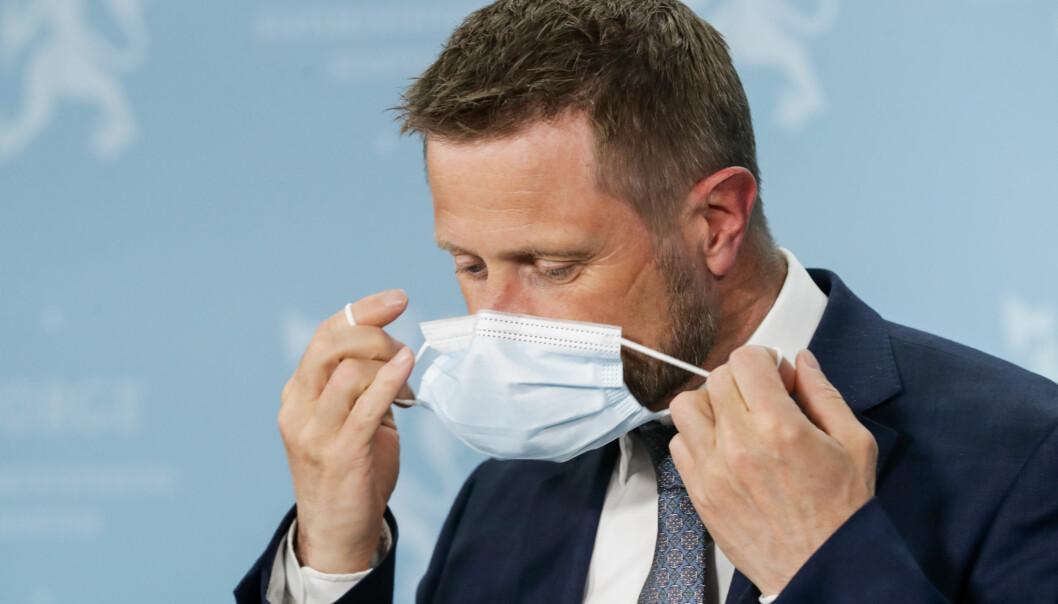 Helse- og omsorgsminister Bent Høie (H) har forståelse for at Oslo ønsker seg flere vaksinedoser.