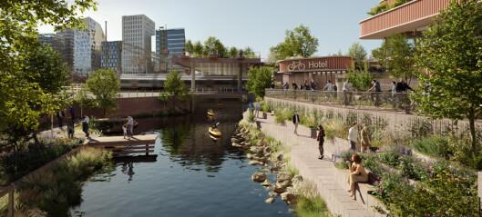 Nordens største sykkelparkeringsanlegg kan komme ved Oslo S