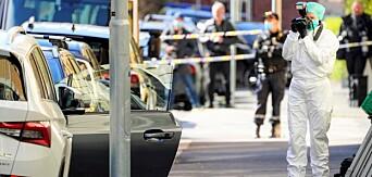En kvinne i 50-årene ble drept i Tostrups gate på Frogner onsdag morgen. En mann en er nå siktet for drapet.