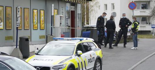 Butikkansatt kritisk skadd med stikkvåpen på Lambertseter. 27-åring pågrepet