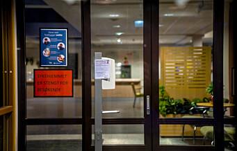 Oslo letter på besøksreglene ved sykehjem. Fra fredag kan besøkende komme uten å varsle på forhånd.