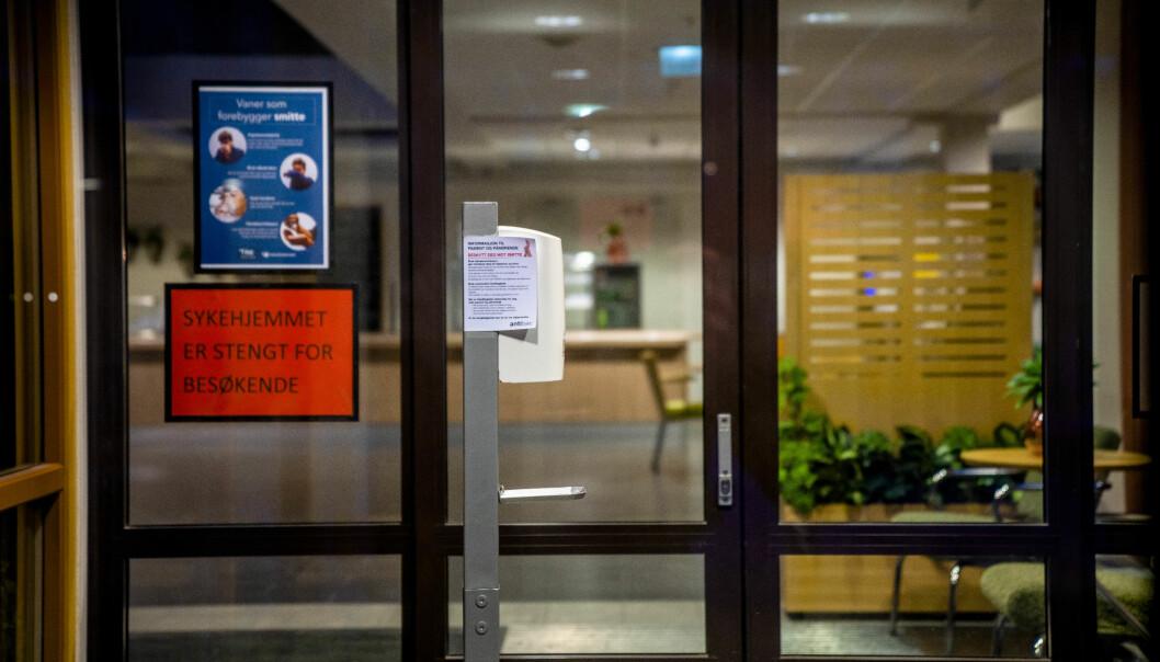 Oslo kommune gjør fredag enkelte lettelser på besøksreglene ved sykehjem.