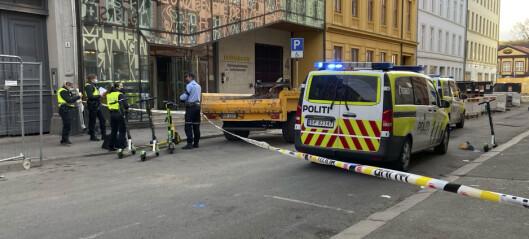 En mann i 40-årene er alvorlig skadd etter å ha blitt knivstukket i Osterhaus' gate i bydel St. Hanshaugen