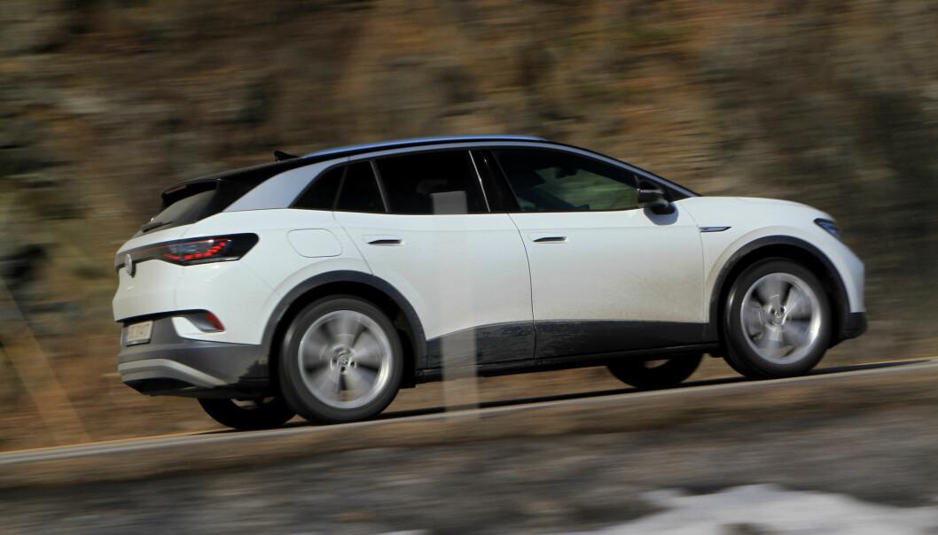 Norges suverent mest populære elbil for øyeblikket er Volkswagens ID4, viser ferske salgstall.