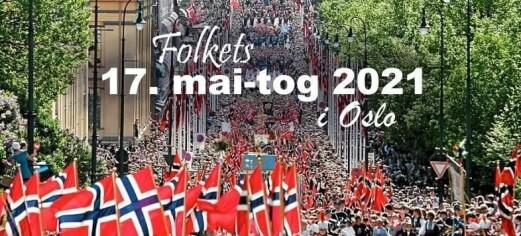 Koronafornektere planlegger storstilt 17. mai-feiring ved Rådhuset. Oppfordrer folk fra hele landet å dra til Oslo