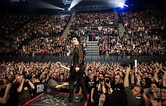 Oslo Spektrum kan bli arena hvis FHI får smitte-teste til sammen 15.000 publikummere på konserter