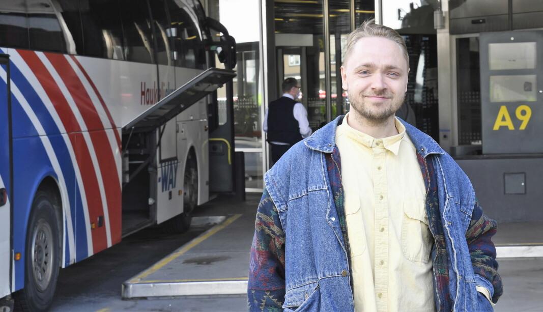 MDG-politiker Tom Kristian Berger mener det er på tide å få bussterminaen bort fra gatebildet på Grønland og i bydel Gamle Oslo.