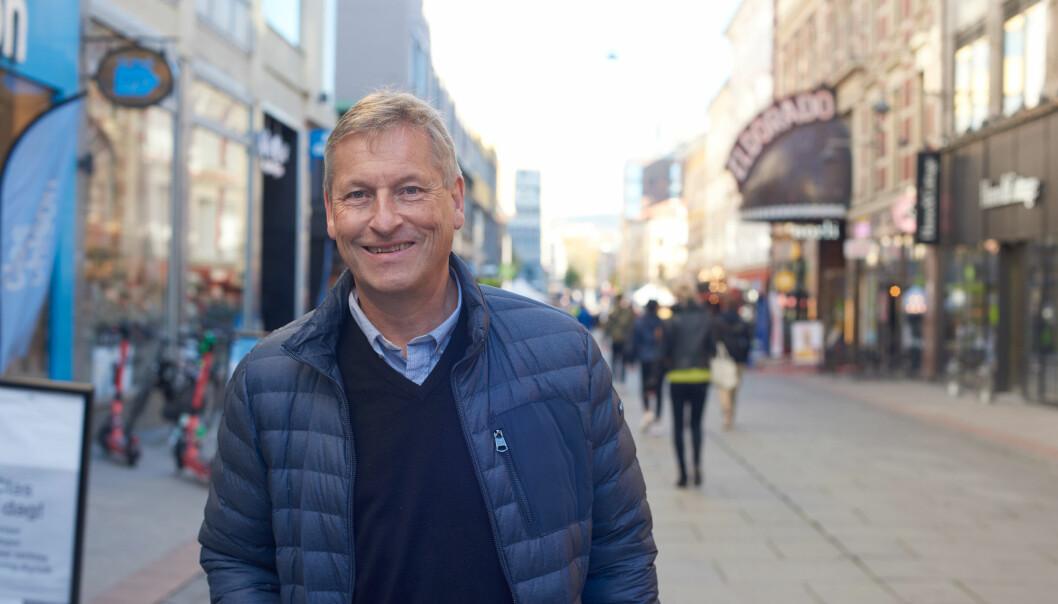 Bjørn Næss, direktør i Oslo Handelsstands forening.
