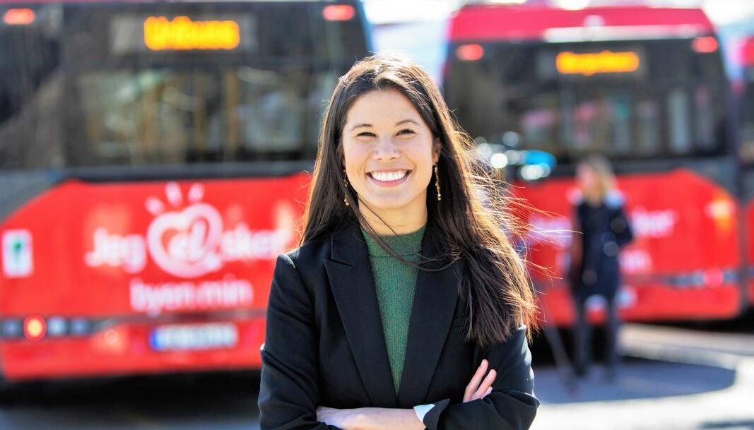 — Det vil fortsatt være behov for en bussterminal sentralt i Oslo, mener samferdselsbyråd Lan Marie Nguyen Berg (MDG).