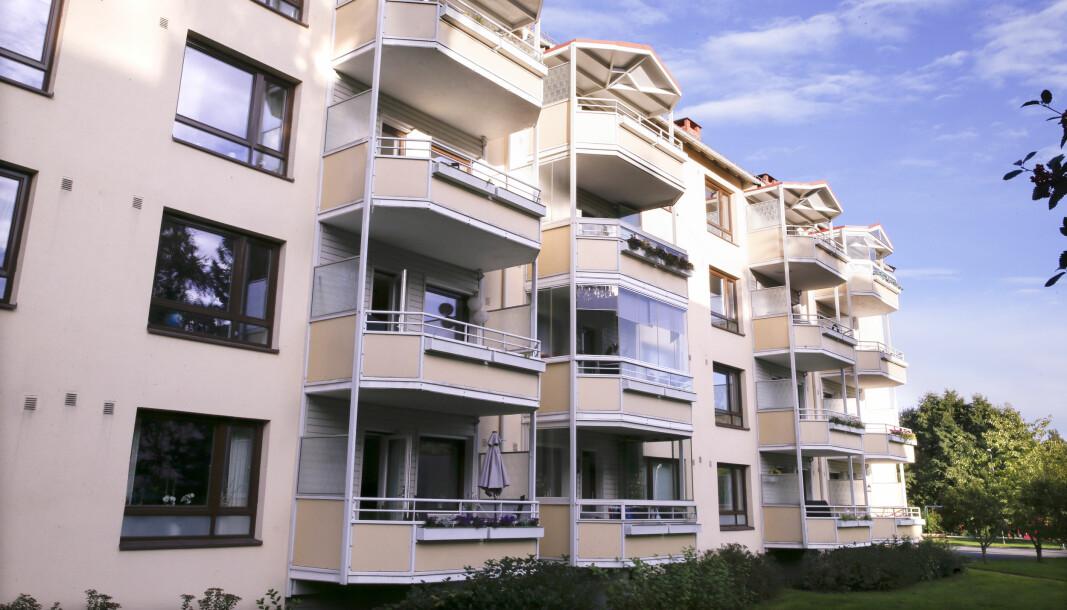 Boligprisene i Oslo fortsetter å stige. Kvadratmeterprisen på disse boligene på Frysja har steget mye.