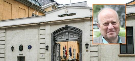 – Miljøer rundt Krigsskolens redder den 400 år gamle eiendommen. Nå bør det offentlige stille opp
