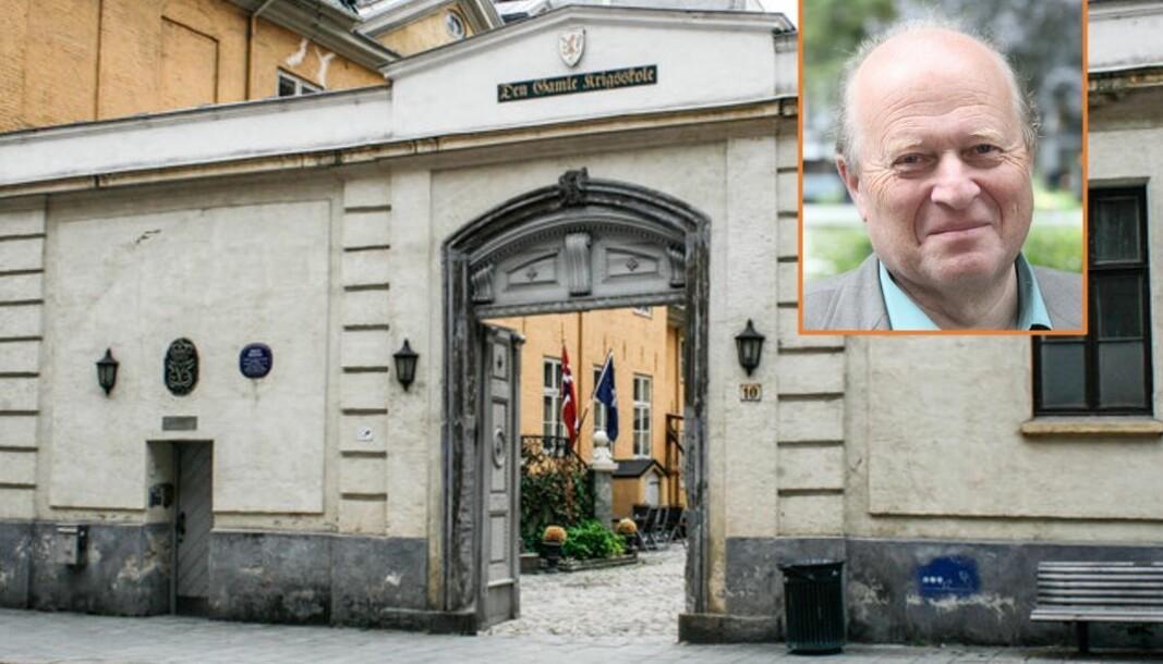 Tidligere statsråd og Venstre-leder Odd Einar Dørum mener staten må spytte inn en sum penger, slik at Krigsskolen får et god start på sitt nye liv som offentlig institusjon.